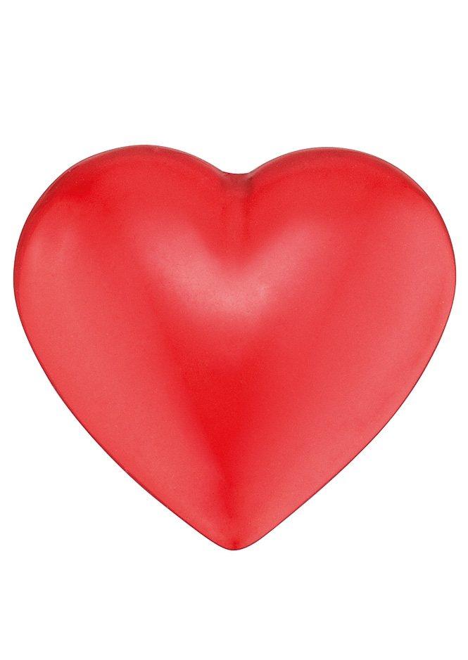 Klangherz, Größe L (ca. 19,5 mm), »ERS-05-HEART-L«, Engelsrufer in rot