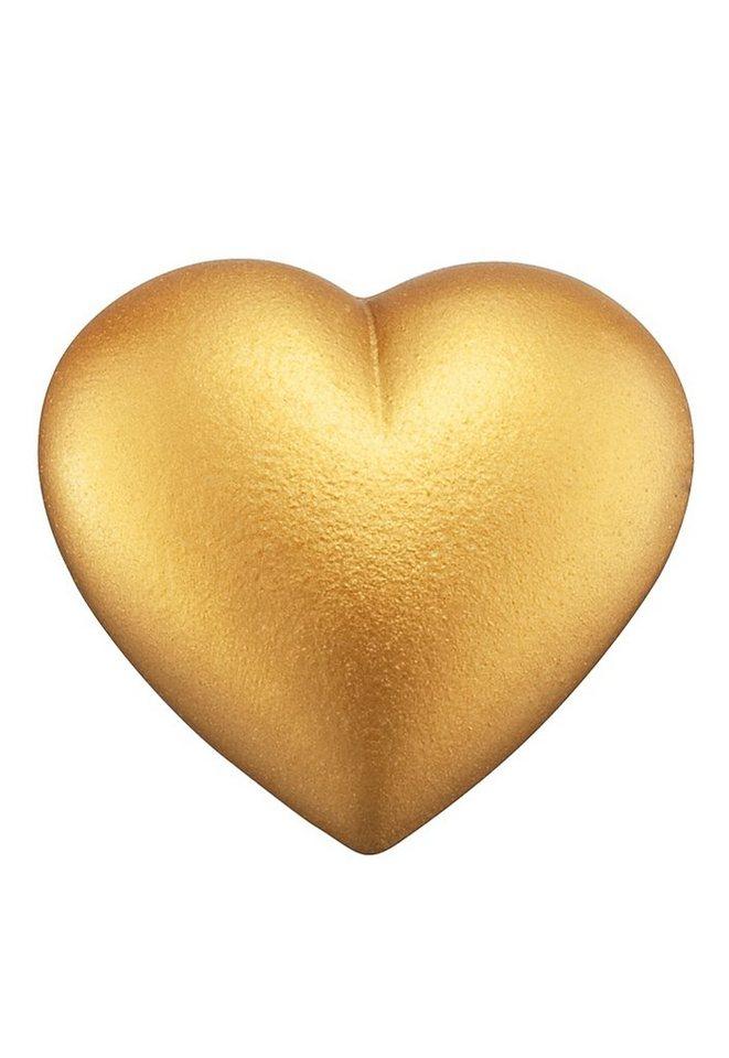 Klangherz, Größe L (ca. 19,5 mm), »ERS-09-HEART-L«, Engelsrufer in goldfarben