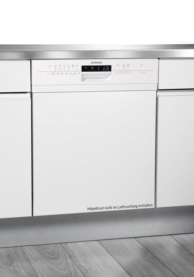 Siemens integrierbarer Einbaugeschirrspüler SN56P230EU, A++, 9,5 Liter, 13 Maßgedecke in weiß