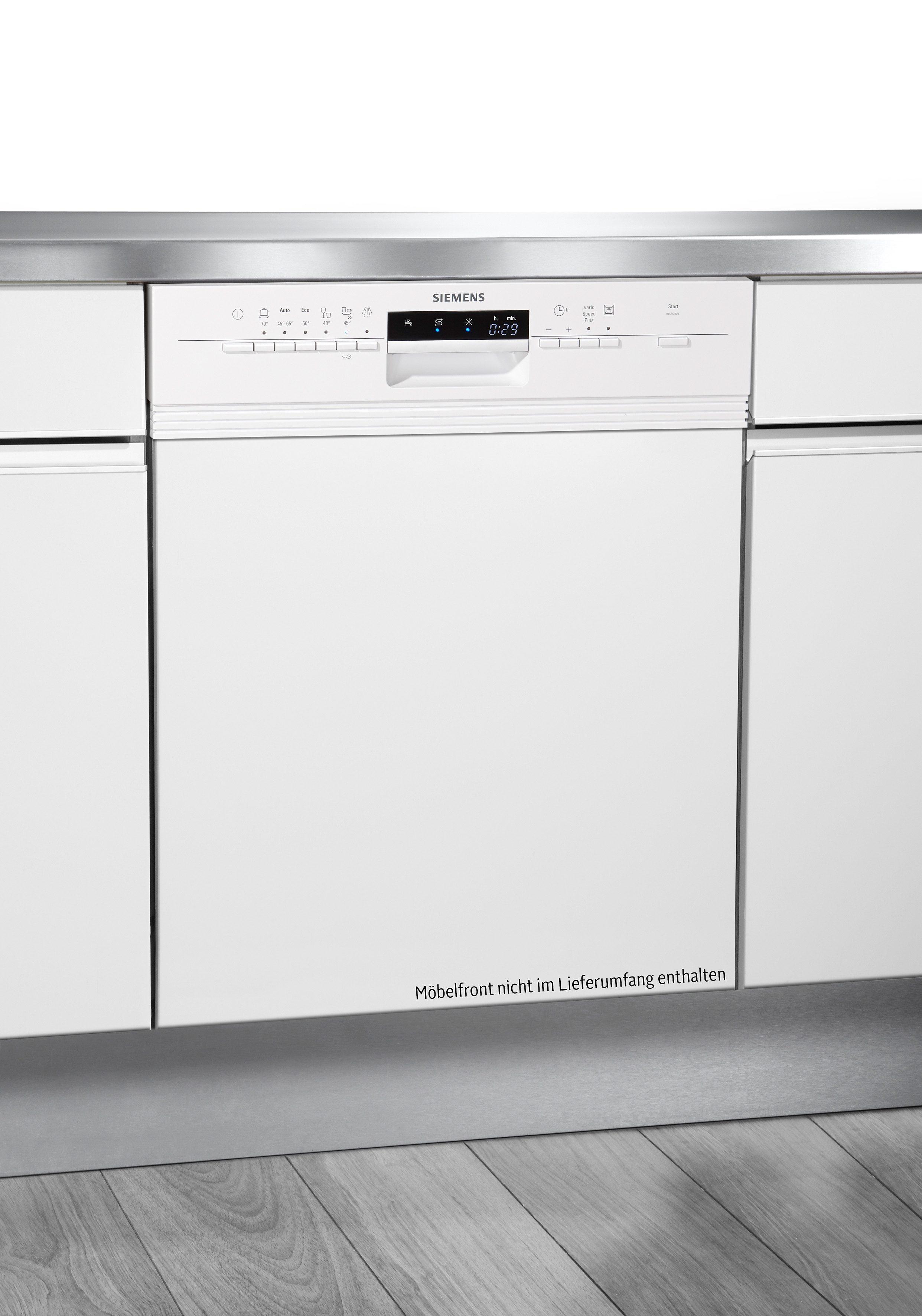 Siemens integrierbarer Einbaugeschirrspüler SN56P230EU, A++, 9,5 Liter, 13 Maßgedecke