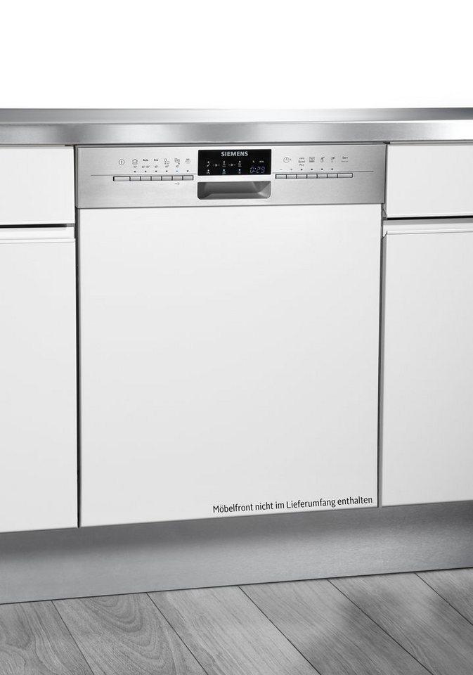 Siemens integrierbarer Einbaugeschirrspüler SX56P592EU, A+++, 9,5 Liter, 14 Maßgedecke in Edelstahl