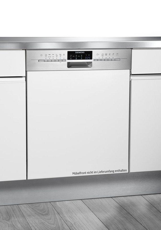 Siemens integrierbarer Einbaugeschirrspüler SN56P592EU, A+++, 9,5 Liter, 14 Maßgedecke in Edelstahl