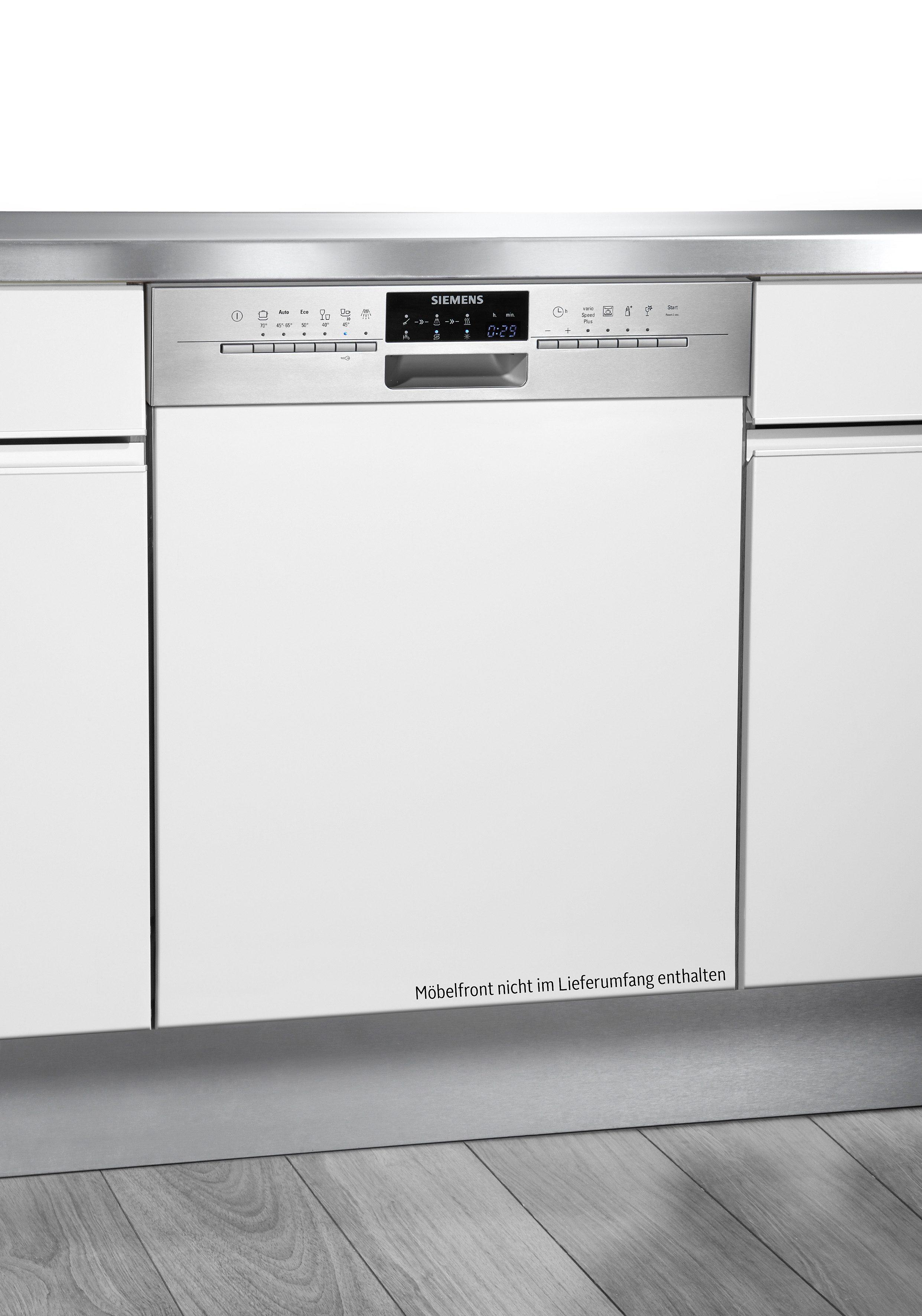 Siemens integrierbarer Einbaugeschirrspüler SN56P592EU, A+++, 9,5 Liter, 14 Maßgedecke