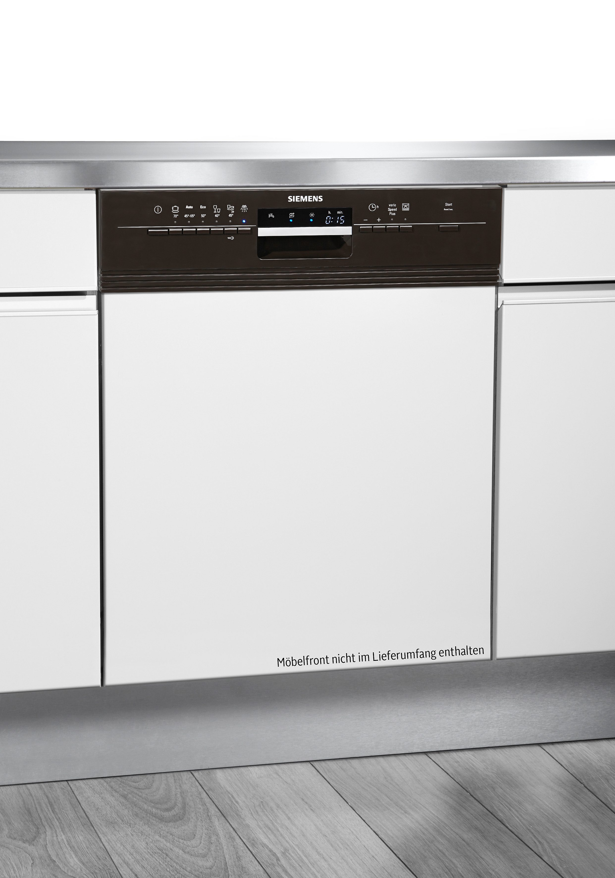 Siemens integrierbarer Einbaugeschirrspüler SN56P430EU, A++, 9,5 Liter, 13 Maßgedecke