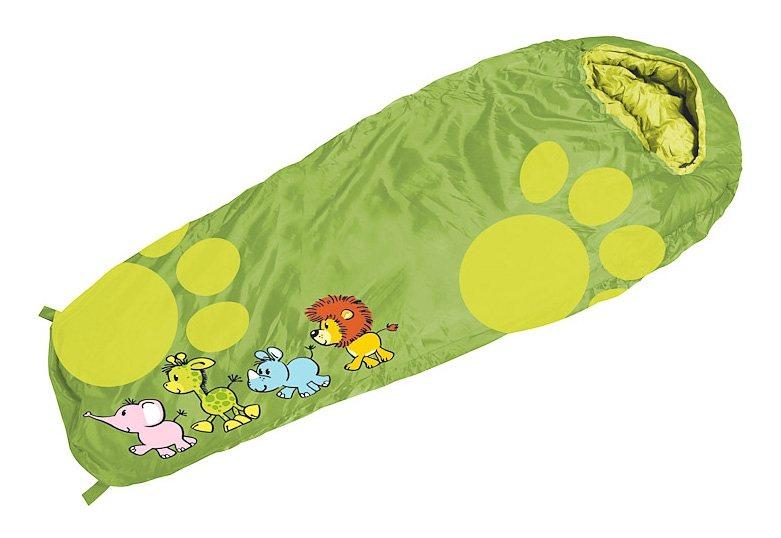 Royalbeach® Schlafsack, »Kinderschlafsack Safari« in grün