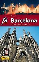 Broschiertes Buch »MM-City Barcelona, m . Karte«