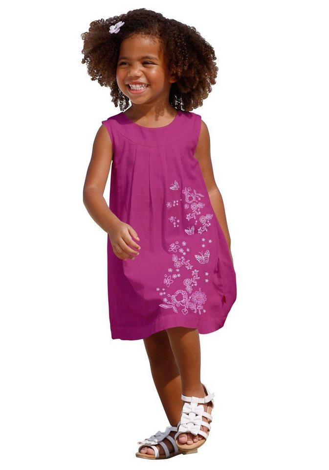 CFL Sommerkleid mit aufwendiger Stickerei in pink