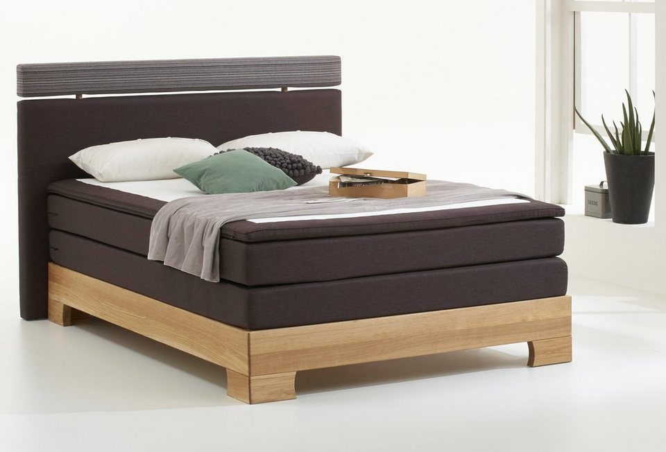 boxspringbett inkl topper atlantic home collection online kaufen otto. Black Bedroom Furniture Sets. Home Design Ideas