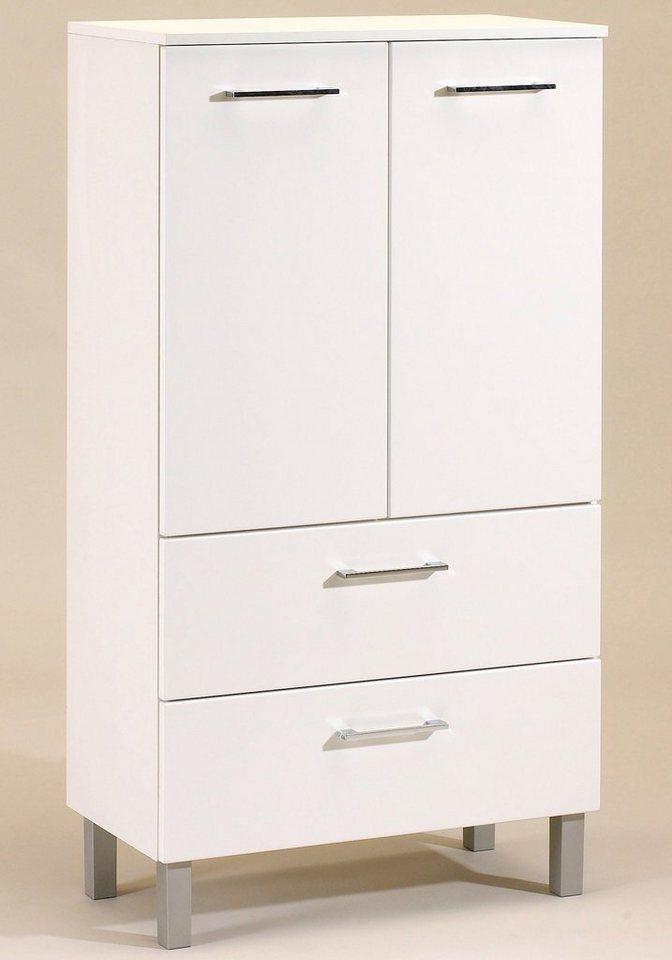 HELD MÖBEL Midischrank »Salerno«, Breite 70 cm in weiß