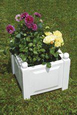 Pflanzkasten weiß, 43 cm