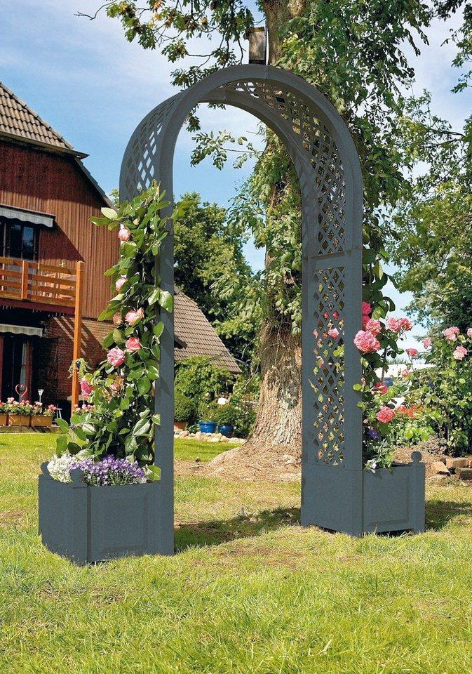 set rosenbogen inkl pflanzk sten anthrazit otto. Black Bedroom Furniture Sets. Home Design Ideas