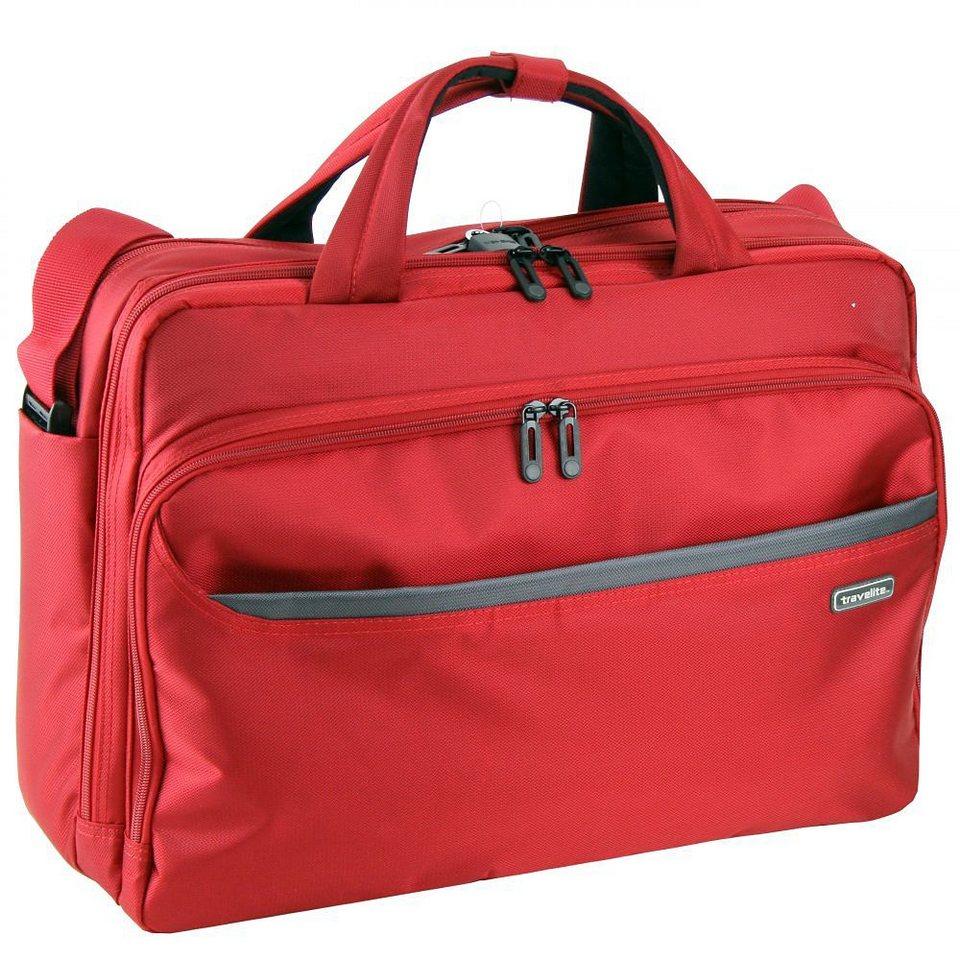 Travelite StarLite II Laptoptasche 45 cm Laptopfach in rot