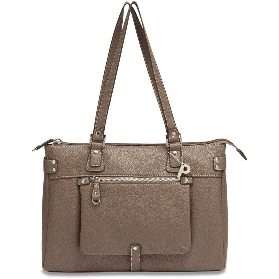 Picard Loire Shopper Tasche 37 cm in taupe