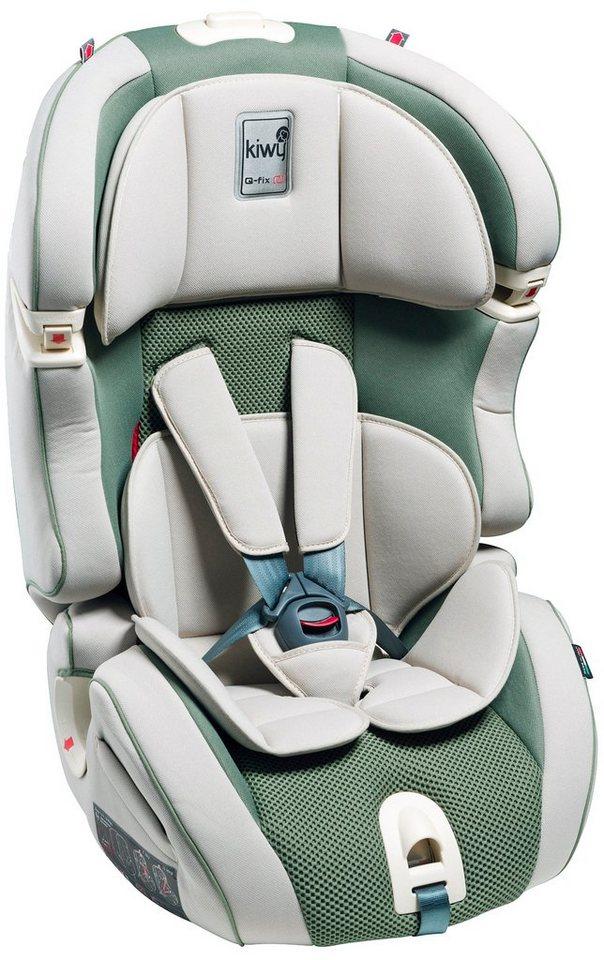 Kindersitz »SLF123«, mit Q-Fix Adapter für Isofix Haltepunkt im Auto, aloe in grün