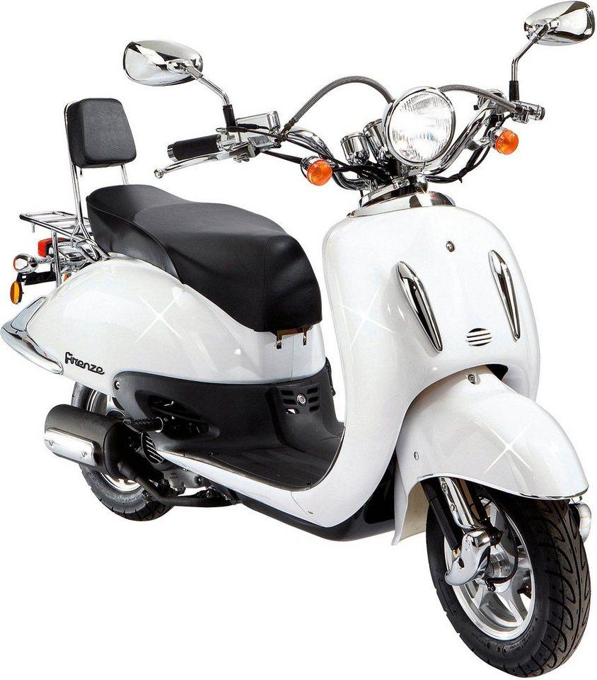 Motorroller »Retro Firenze«, 50 ccm, 45 km/h in weiß