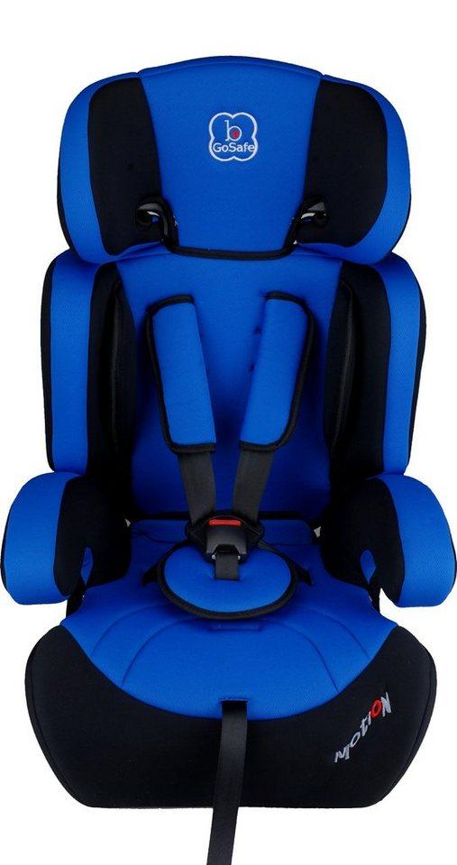 Kindersitz »Motion«, 9 - 36 kg, Energie-absorbierende Kopfpolsterung in blau