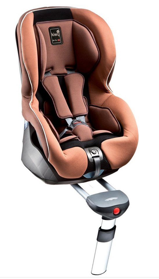 Kiwy Kindersitz »kiwy SPF1 mit Isofix und SA-ATS System, mokka« in braun