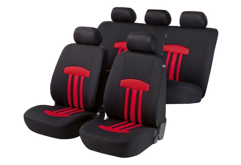 Set: Autositzbezug »Kent« in rot
