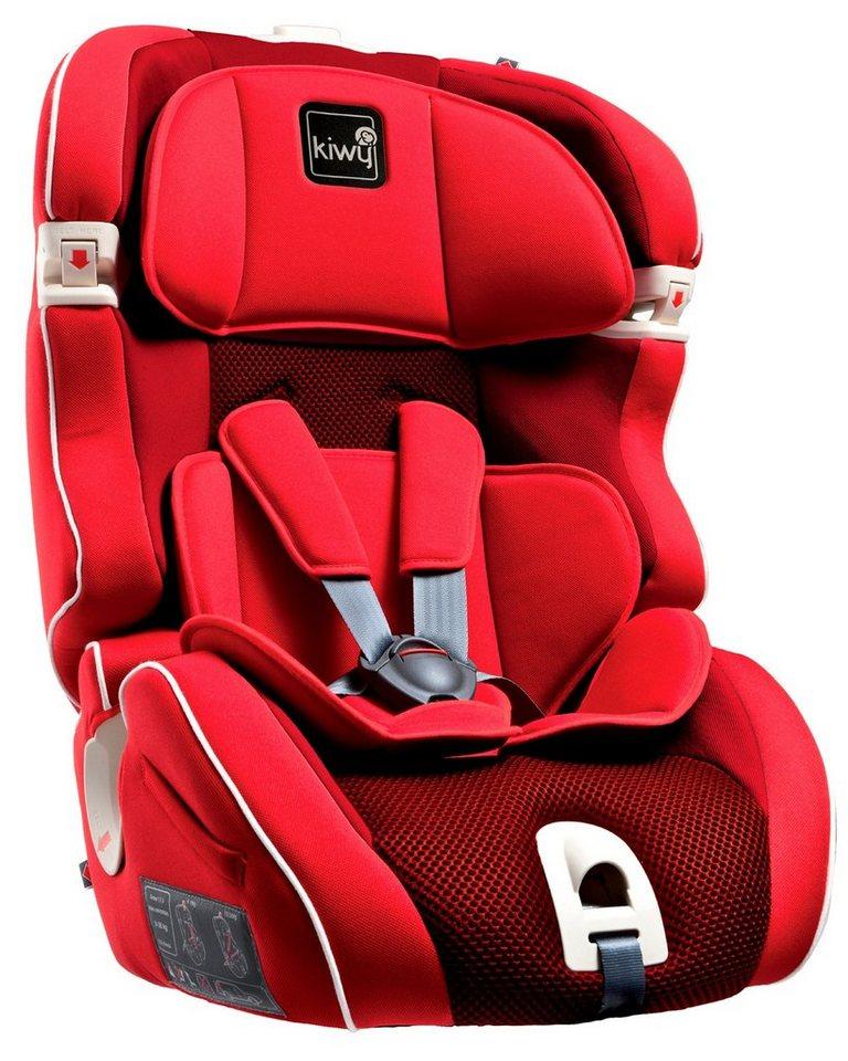 Kiwy Kindersitz »kiwy SL123 Universal, cherry« in rot