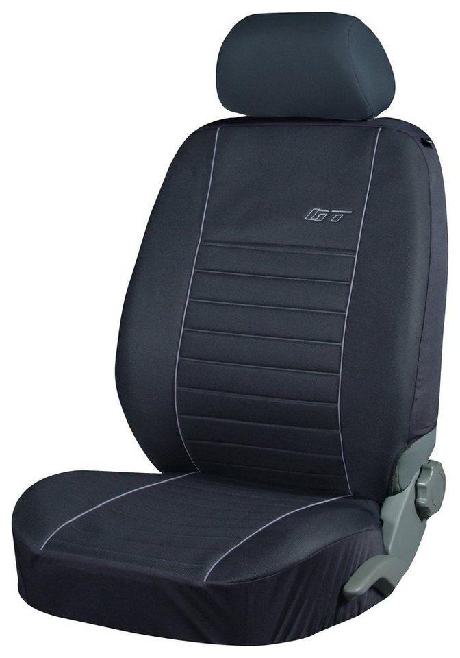 Set: Autositzbezug »Triangel, 11 tlg.« in grau