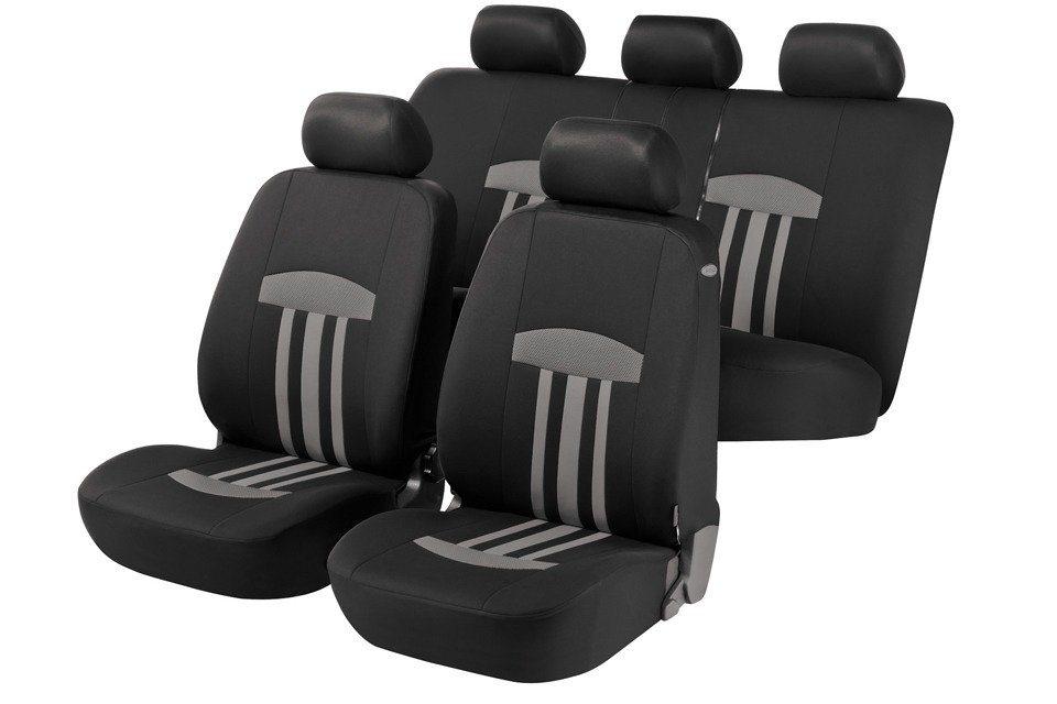 Set: Autositzbezug »Kent« in schwarz