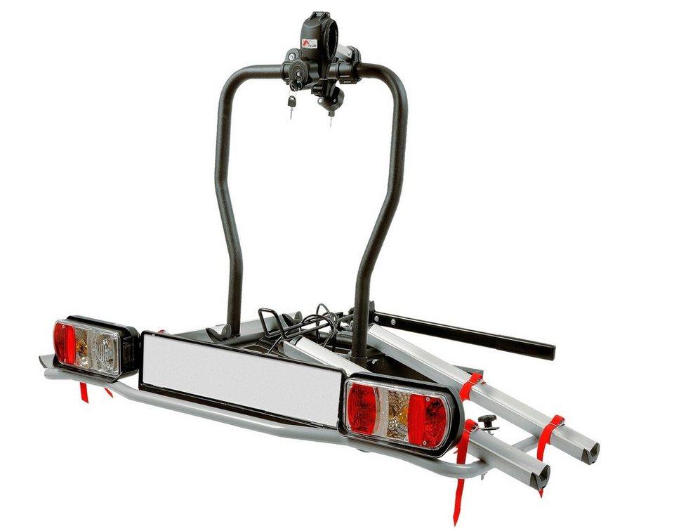 Fahrradträger »E-Dison, E-Bike geeignet« in schwarz