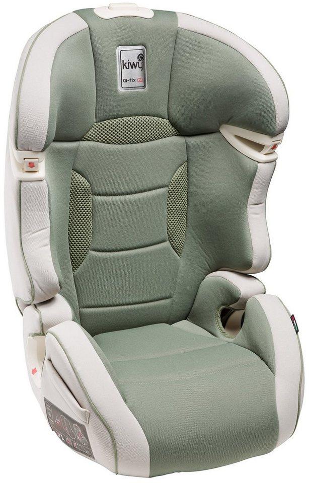 Kindersitz »SLF23«, mit Q-Fix Adapter für Isofix Haltepunkte im Auto, aloe in grün