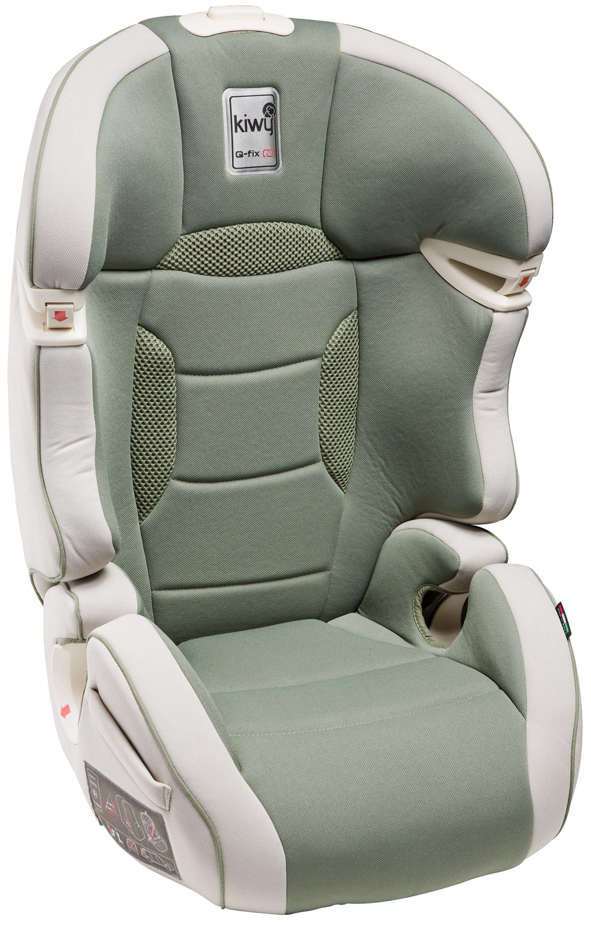 Kindersitz »SLF23«, mit Q-Fix Adapter für Isofix Haltepunkte im Auto, aloe