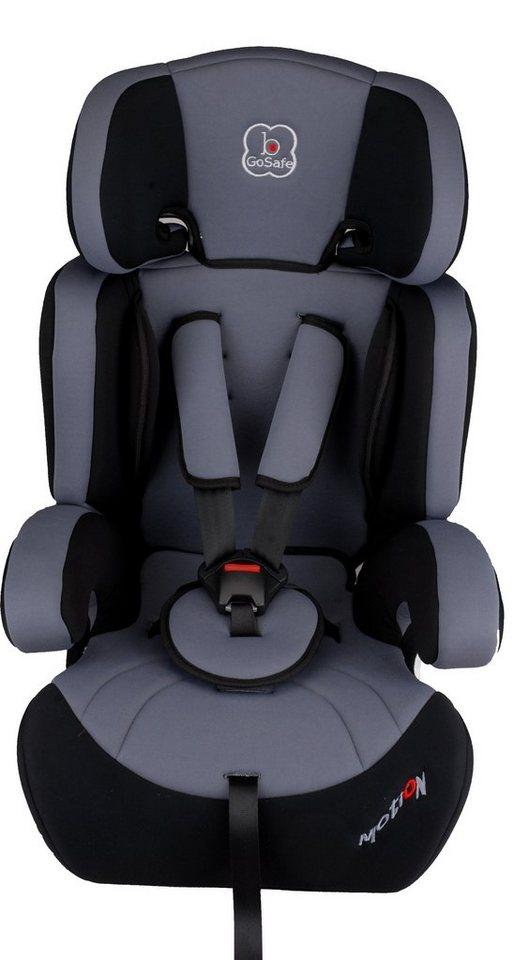Kindersitz »Motion 320-4«, 9 - 36 kg, Energie absorbierende Kopfpolsterung in grau