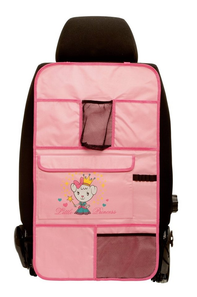 Rücksitzorganizer »Princess« in rosa