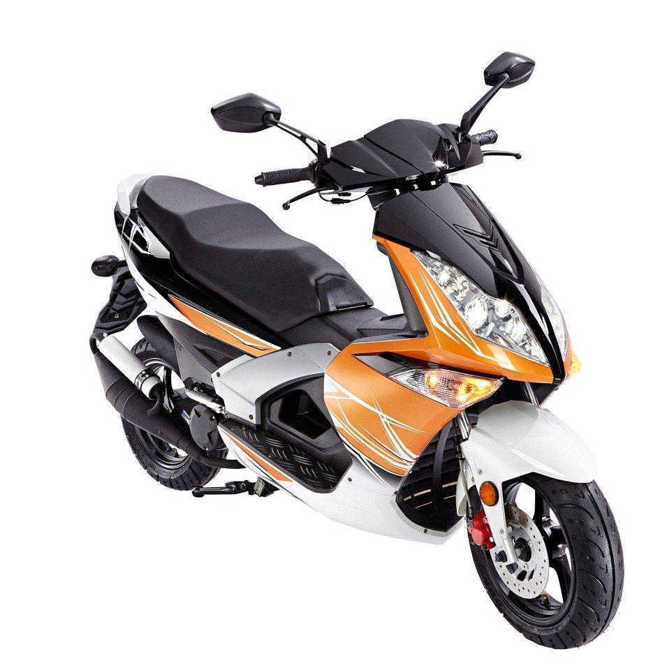 Gt Union Motorroller »Manhattan 50 ccm« in orange