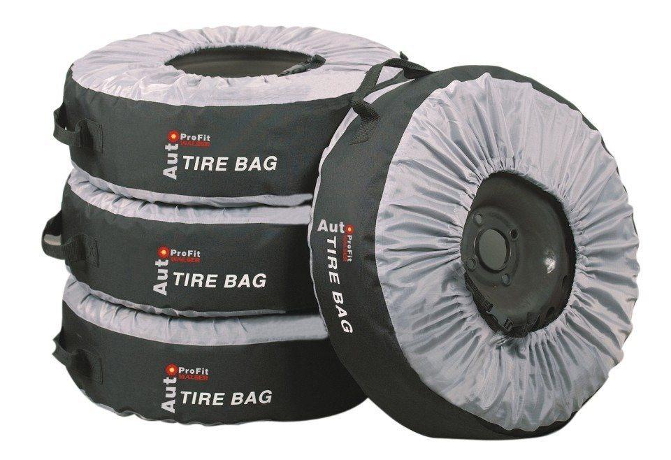 Set: Reifentasche (4-tlg.) in schwarz