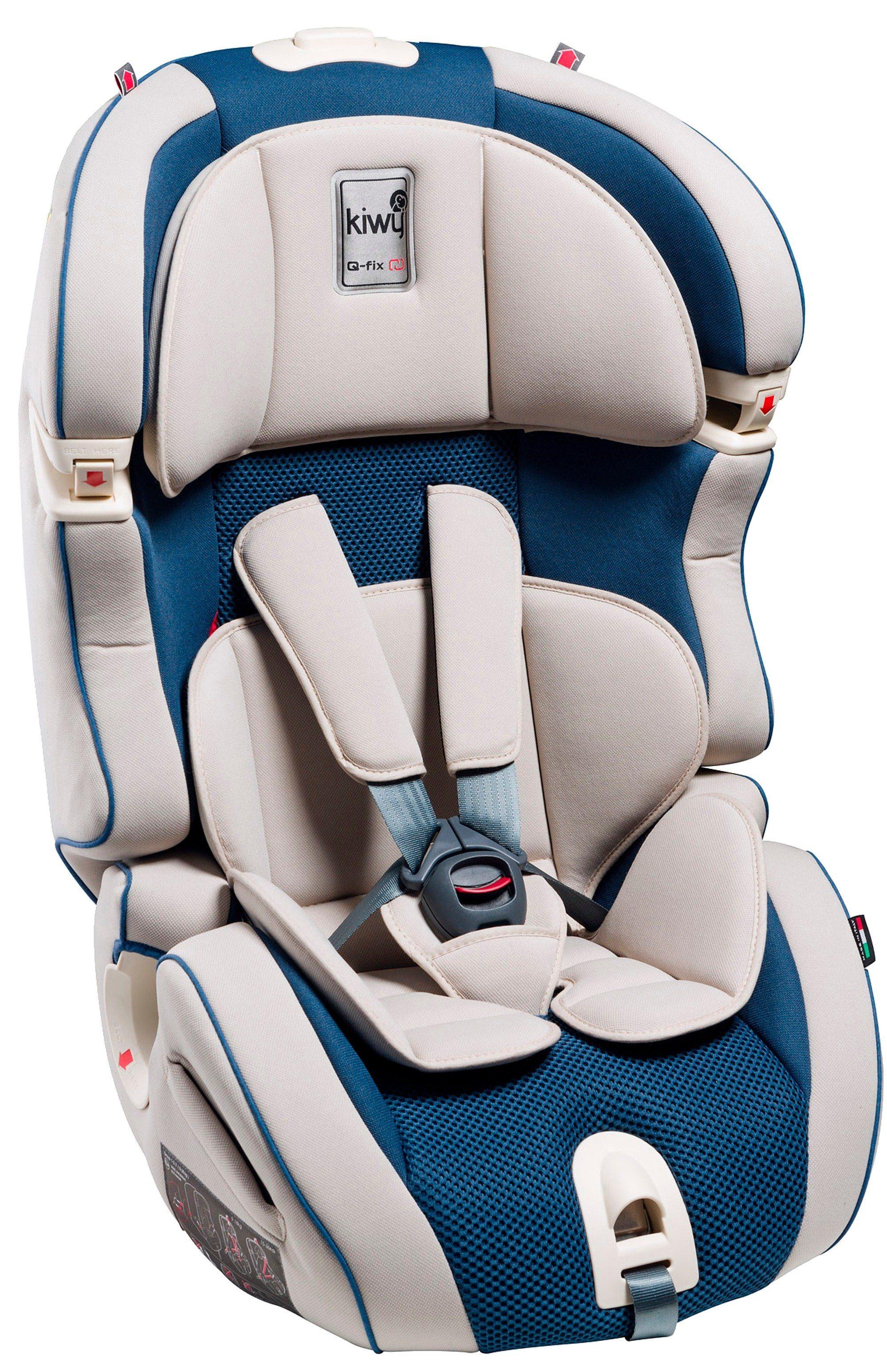 Kiwy Kindersitz »kiwy SLF123 mit Q-Fix Adapter für Isofix Haltepunkt im Auto, ocean«