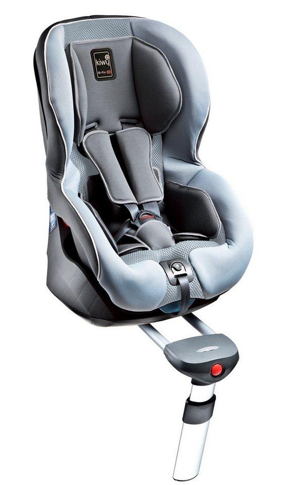 Kiwy Kindersitz »kiwy SPF1 mit Isofix und SA-ATS System, stone« in grau