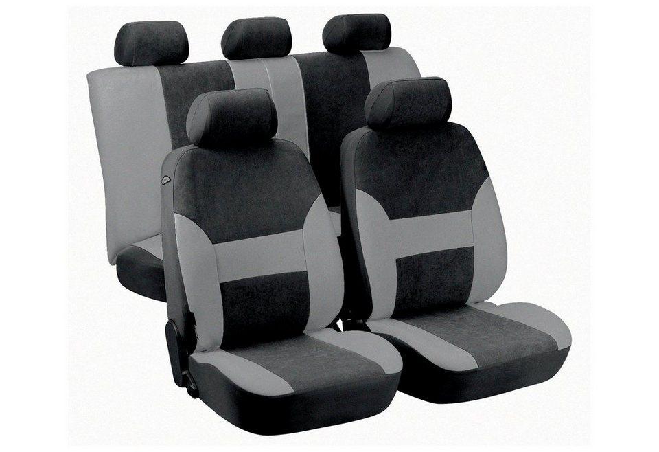 Set: Autositzbezug »Dubai« in schwarz
