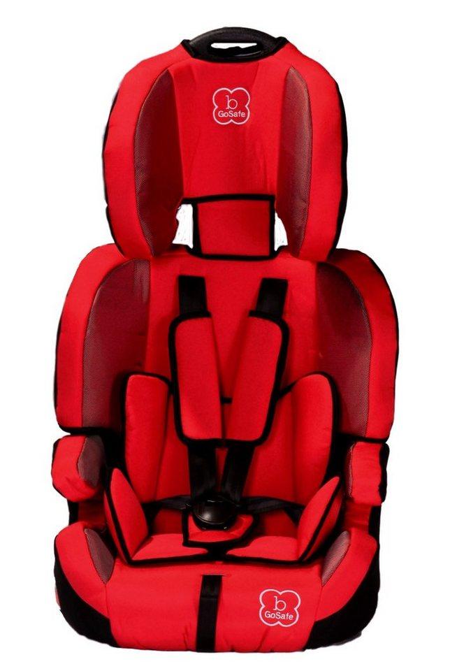 Kindersitz »GoSafe«, 9 - 36 kg, mit Sitzverkleinerung in rot