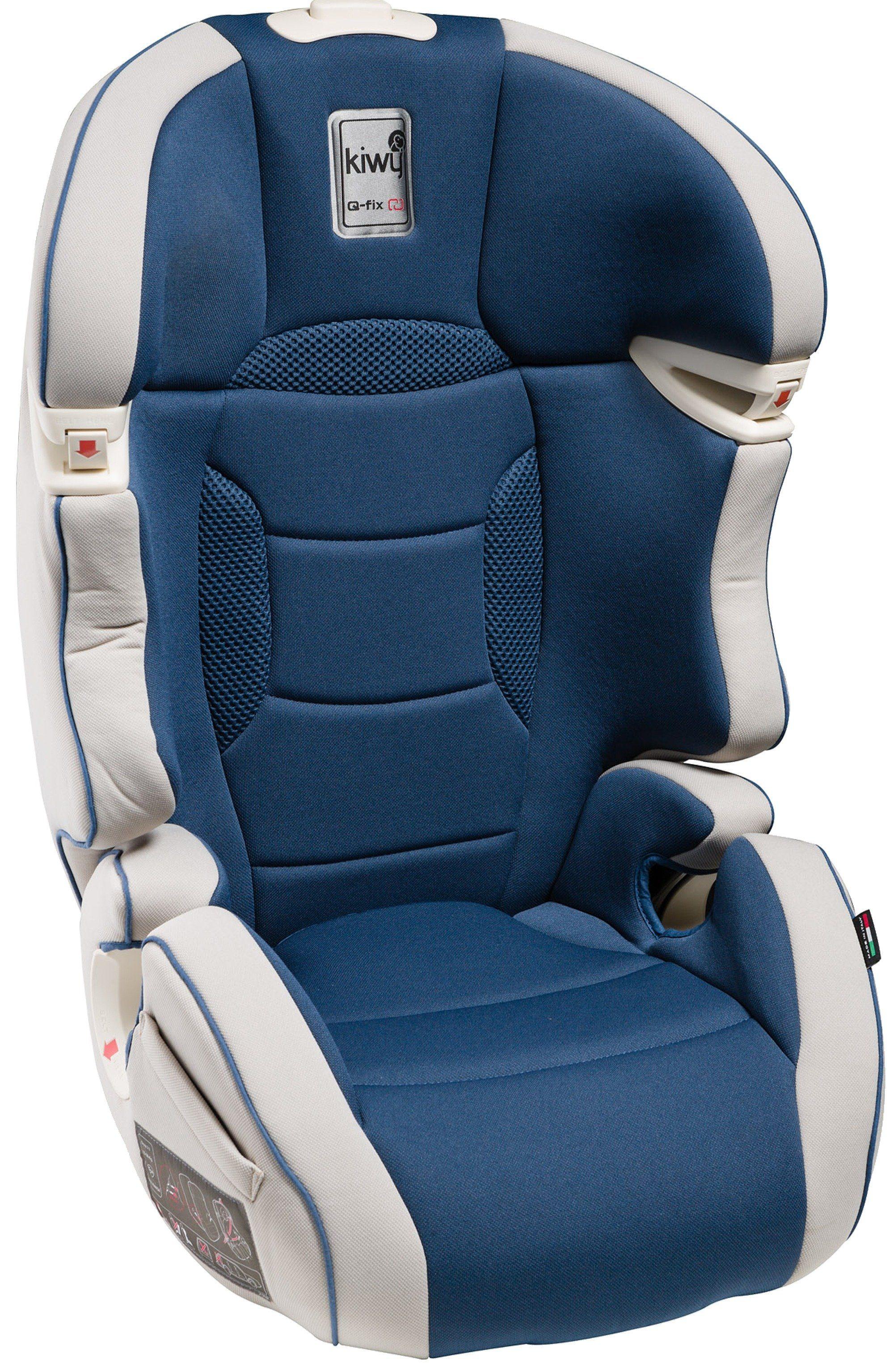 Kindersitz »SLF23«, mit Q-Fix Adapter für Isofix Haltepunkte im Auto, ocean