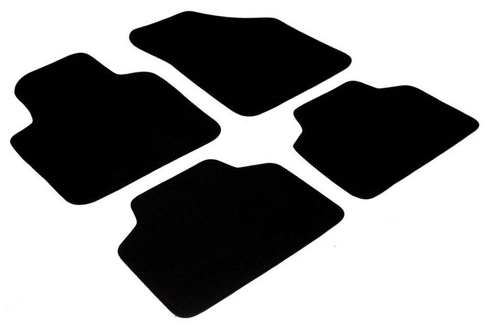 Automatten »Skoda (4 tlg.)« in schwarz