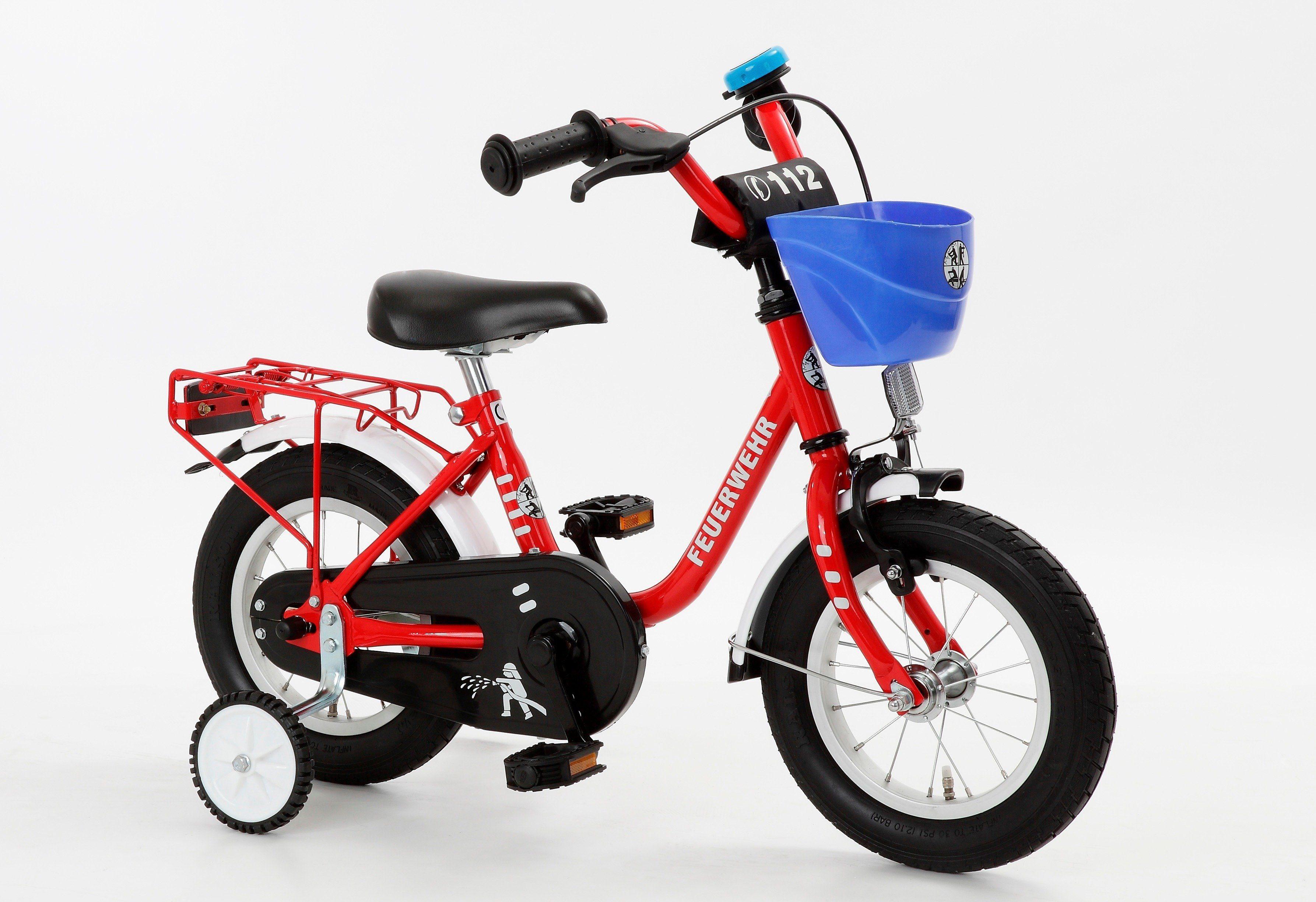 Cycles4Kids Kinderfahrrad »Feuerwehr, 35,6 cm (14 Zoll)«