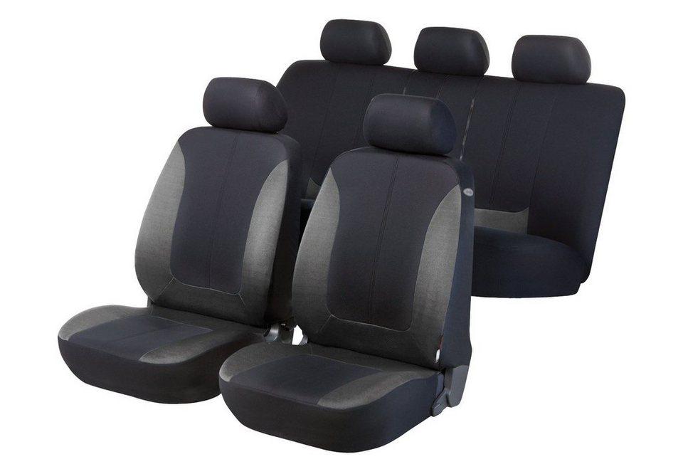 Set: Autositzbezug »Norfolk« in schwarz