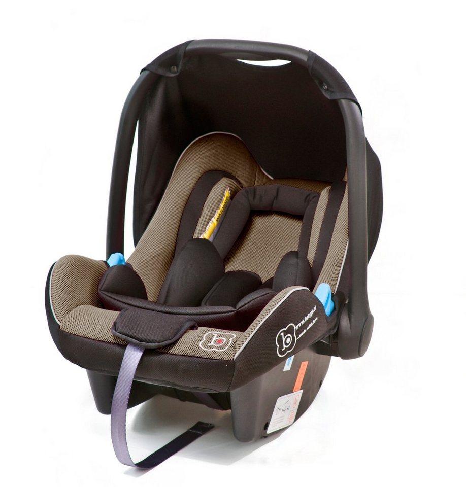 Babygo Babyschale »Travel XP«, 0 - 13 kg, mit Wippfunktion in braun