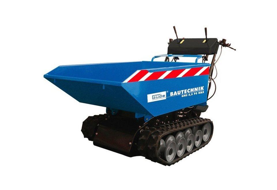 Raupendumper »GMS 6,5 PS B&S« in blau