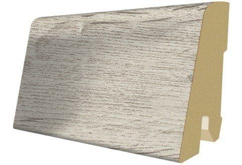 Sockelleisten passend zum Laminatfußboden »Megafloor M2«, eiche sedan Nachbildung in grau