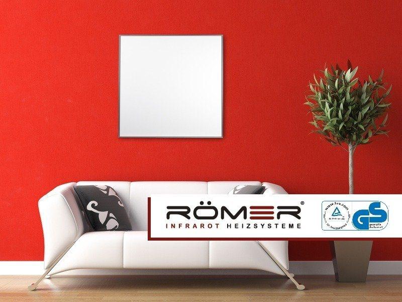 roleff infrarotheizung heizplatte 60 x 60 400 watt online kaufen otto. Black Bedroom Furniture Sets. Home Design Ideas