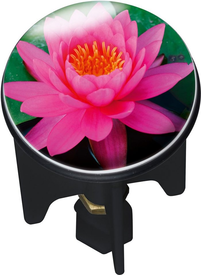 Abfluss-Stöpsel, Wenko, »Pluggy Pink Lily«