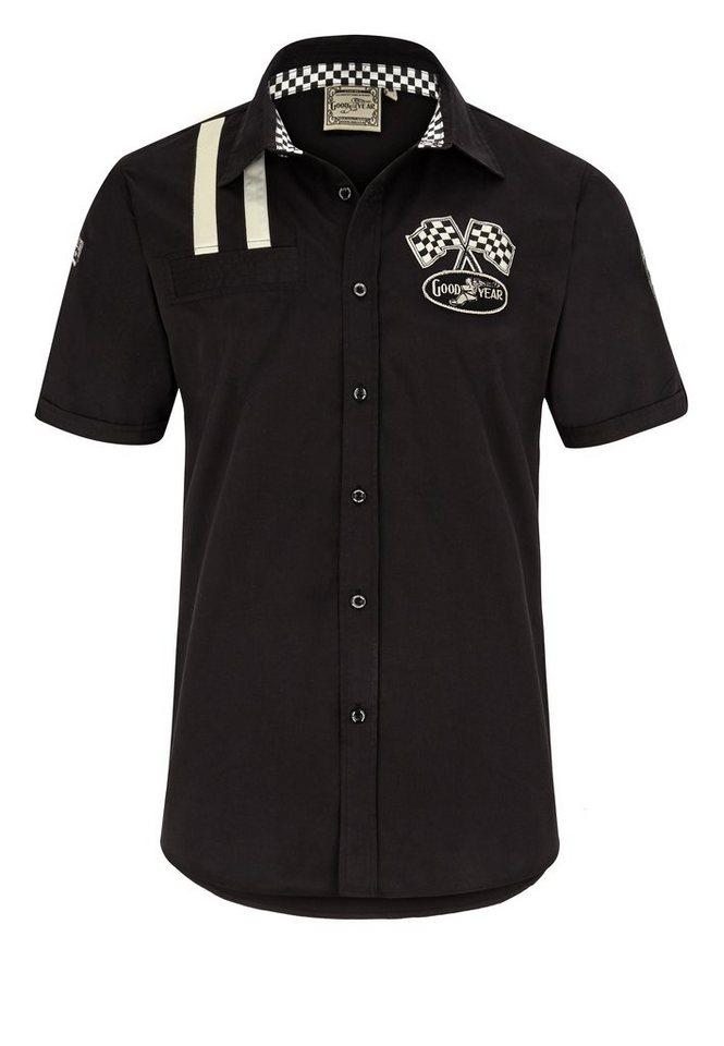 Goodyear Hemd »SHINROCK« in Black
