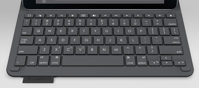 Logitech Type+ Keyboard-Case mit Tastatur »für iPad Air 2 schwarz (920-006579)«