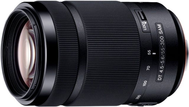 Objektive - Sony »SAL 55300« Teleobjektiv  - Onlineshop OTTO