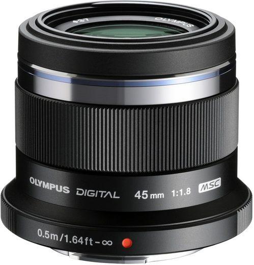 Olympus »M.ZUIKO DIGITAL 45 mm« Festbrennweiteobjektiv