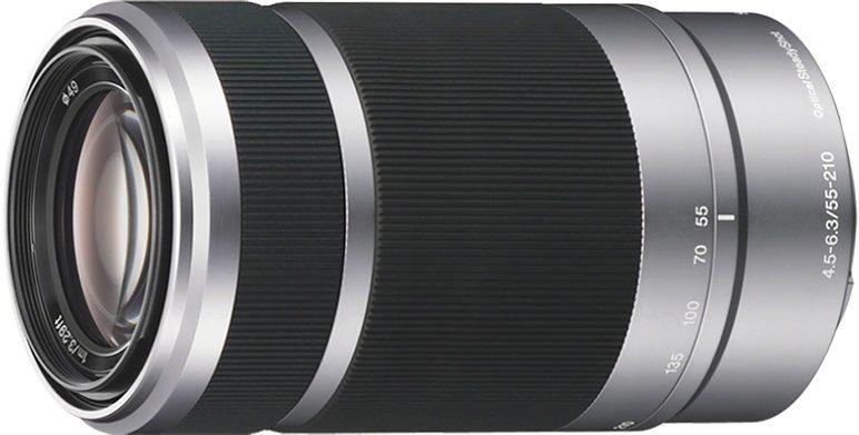 Sony SEL-55210 E55-210 mm F4,5-6,3 OSS Telezoom Objektiv